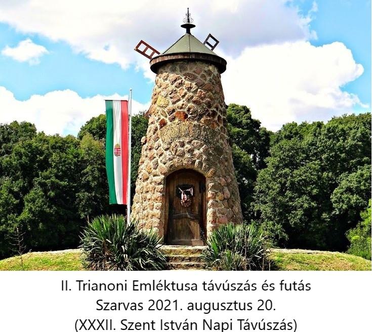 II. Trianoni Emléktusa -távúszás és futás XXXII. Szent István Napi Távúszás (2021-08-20)