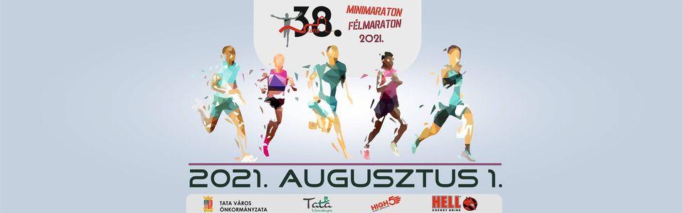 38. Tatai Minimaraton és Félmaraton (2021-08-01)