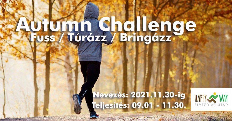 Autumn Challenge – fuss/túrázz/bringázz (2021-09-01)