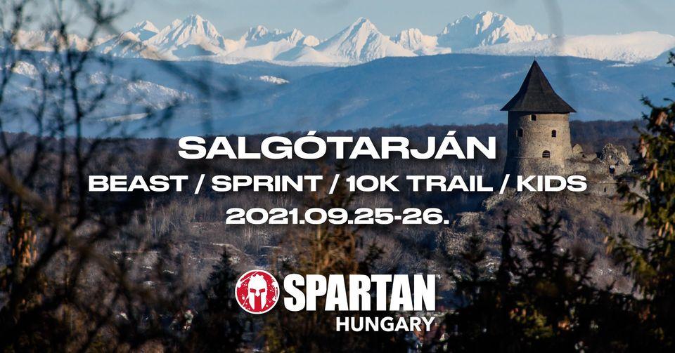 SPARTAN BEAST/SPRINT/TRAIL 10K/KIDS SALGÓTARJÁN (2021-09-25)