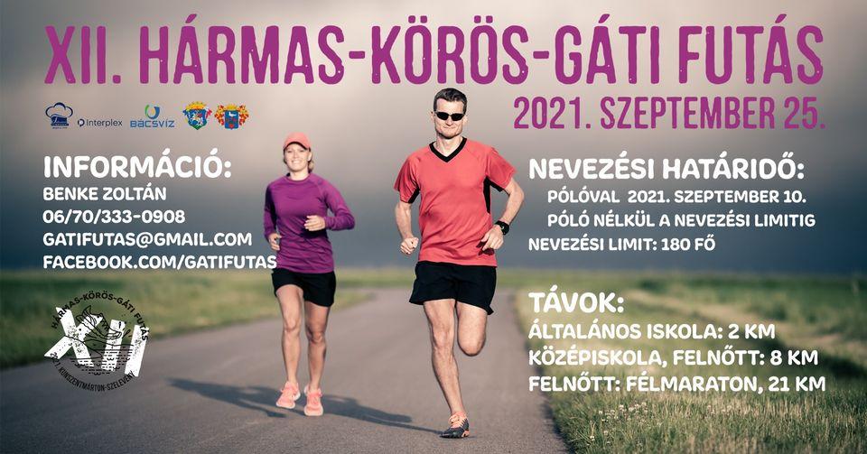 XII. Hármas-Körös-Gáti futás (2021-09-25)