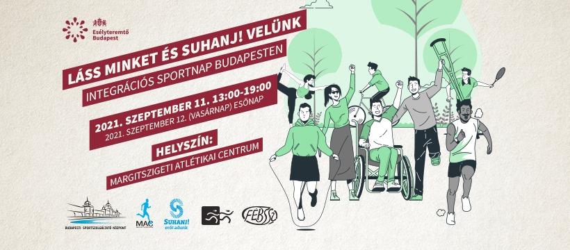 LÁSS MINKET ÉS SUHANJ! VELÜNK – integrációs sportnap Budapesten (2021-09-11)