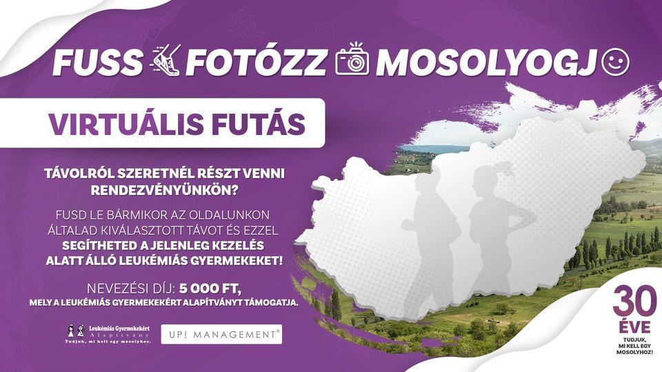 Fuss Fotózz Mosolyogj –Virtuális futás (2021-10-23)