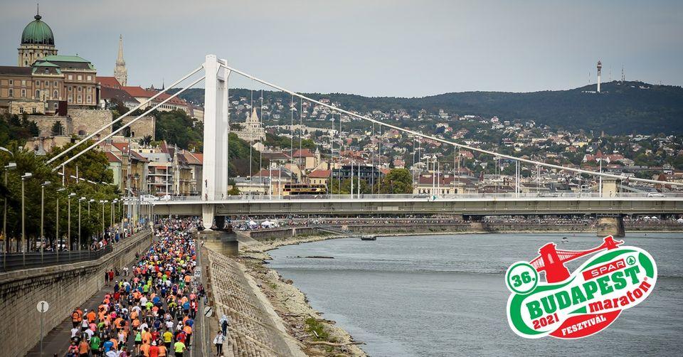 36. SPAR Budapest Maraton® Fesztivál (2021-10-09 – 2021-10-10)