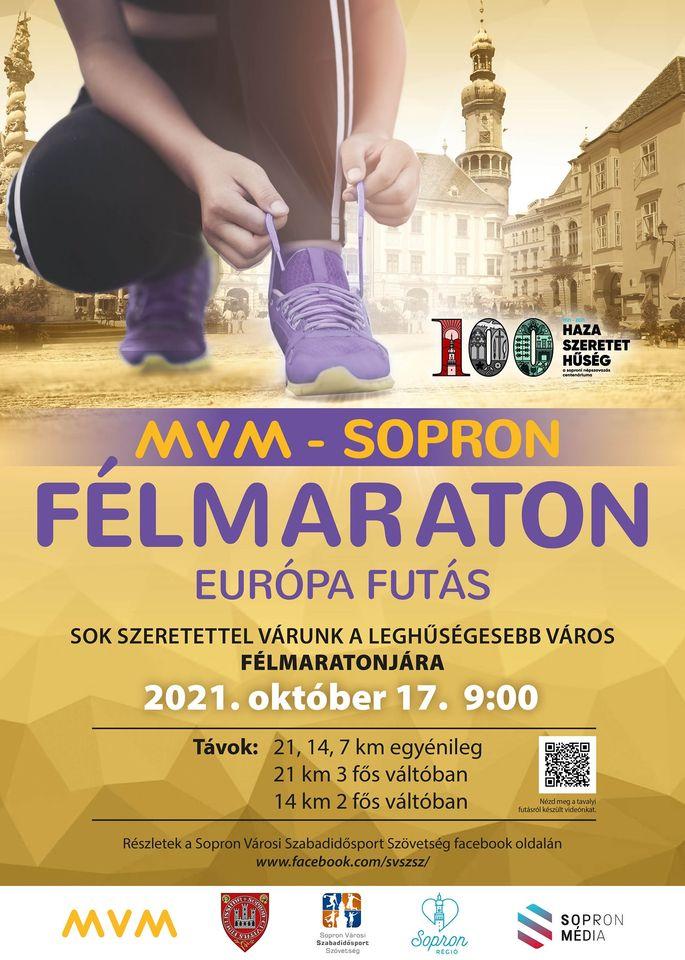 MVM – Sopron Félmaraton – Európa Futás (2021-10-17)