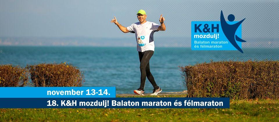 18. K&H mozdulj! Balaton maraton és félmaraton (2021-11-13)