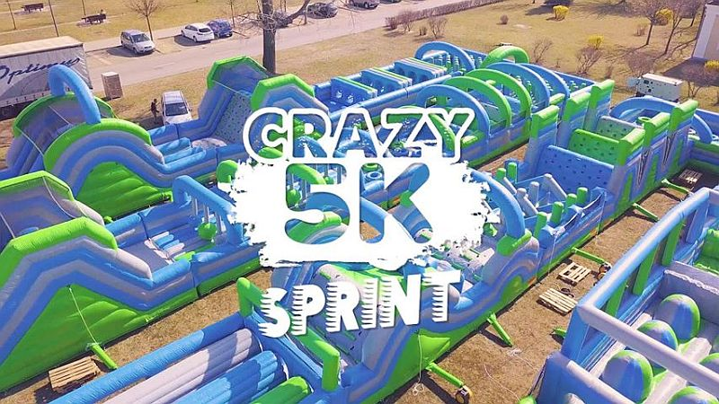 Crazy5k Sprint Debrecen –Inflatable Obstacle Run (2019-09-07)